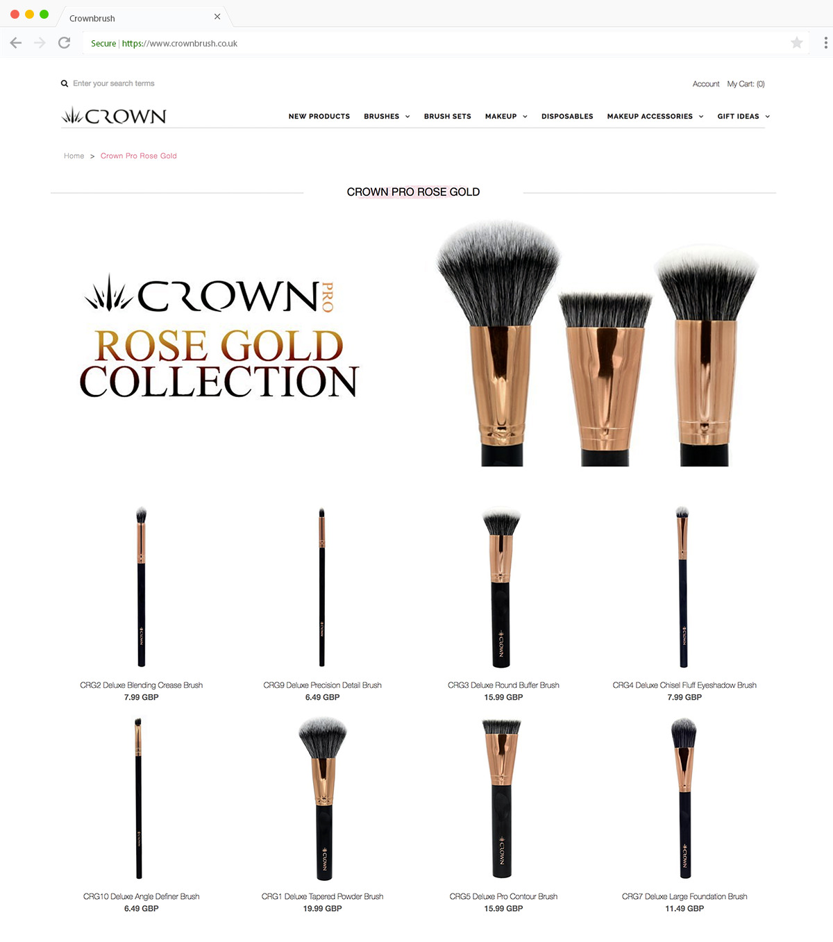 Crownbrush Collection