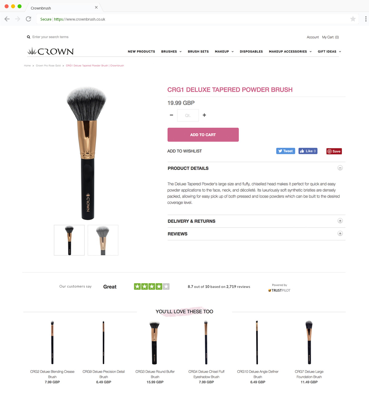 Crownbrush Product