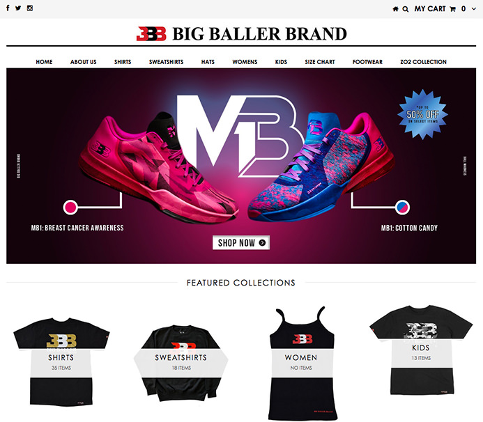 The Ball Brothers on Shopify