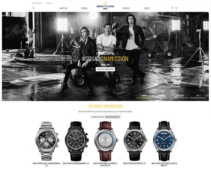 Breitling watch brand inspiration