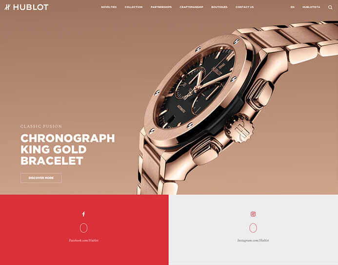 Hublot watch brand inspiration