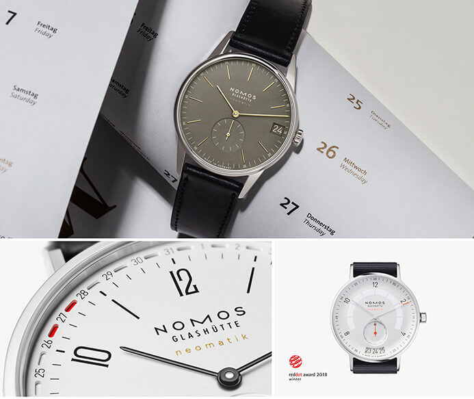 Nomos Glashuette watch brand inspiration