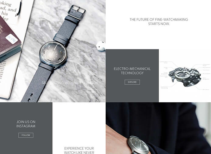 Ressence watch brand inspiration