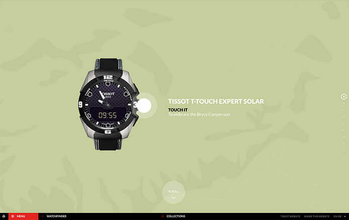 Tissot watch brand inspiration