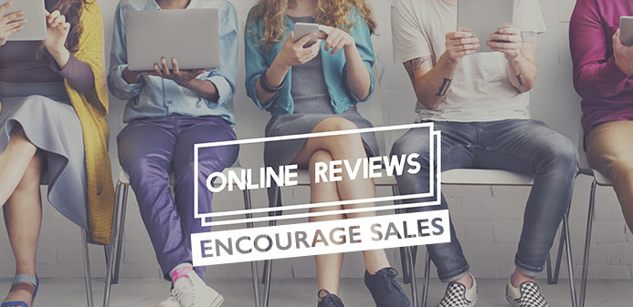 How reviews can encourage sales
